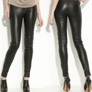 ** LEITH Nordstrom Faux Leather Leggings NEW